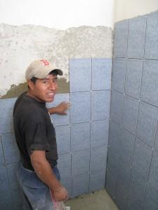 MH Shower /w Tile!!